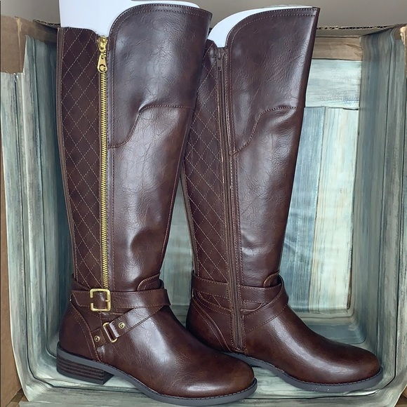 G by Guess Womens harson5 Closed Toe Knee High Fashion Boots